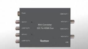 广播级转换器:SDI To HDMI Duo