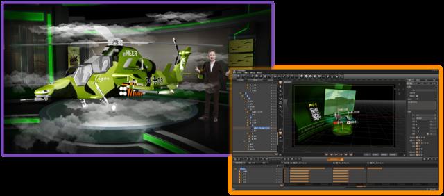 基于时间线编辑制作各物件材质贴图属性,光线效果(高光,环境光,自发光